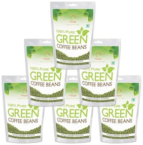 Vihado Nutrition Green Coffee Beans  for Weight Management 500g (Pack of 6)