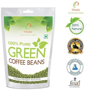 Vihado Organic Green Coffee beans 250 g