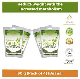 Vihado Premium Green Coffee  For Weight Loss - 50g (Pack of 4)