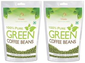 Vihado Premium Green Coffee  For Weight Loss 200g (Pack of 2)