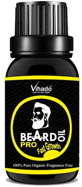 Vihado PRO Faster Growth Beard Growth Hair Oil (10 ml) (Pack of 1)