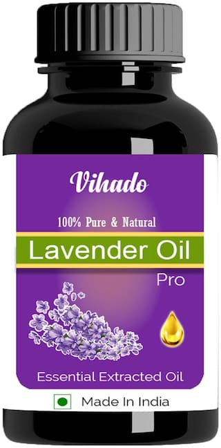 Vihado Pure & Natural Lavender Oil 5 ml Pack of 1