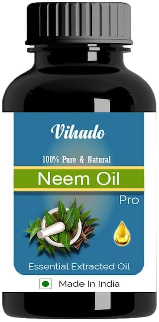 Vihado Pure & Natural Neem Oil 5ml (Pack of 1)