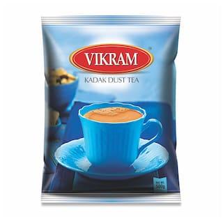 Vikram Kadak Dust Tea Strong Bold And Rich Flavour Perfect Morning Tea 500 g  (Pack Of 1)