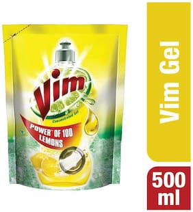 Vim Concentrated Gel Yellow 500 ml