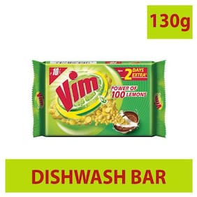 Vim Dishwash Bar 130 g