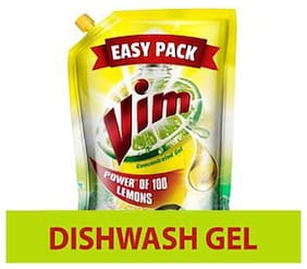 Vim Dishwash Gel - Lemon 155 ml