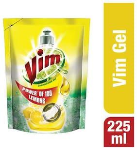 Vim Dishwash Gel - Lemon 225 ml