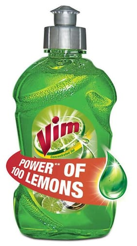 Vim Dishwash Gel Lime 500 ml