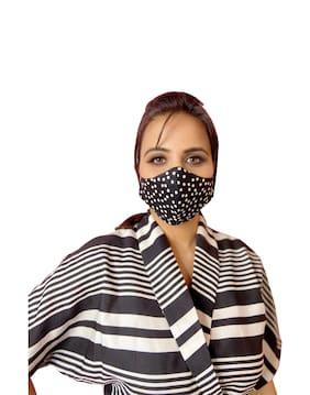 Vira Clothings Women's Hawk Style 2 Layered Reusable Face Mask