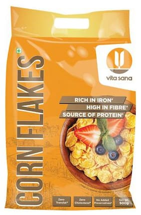 Vita Sana Corn Flakes 500 gm