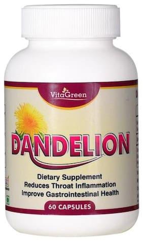 Vitagreen Dandeleon Pack Of 1 (60 Capsules each)