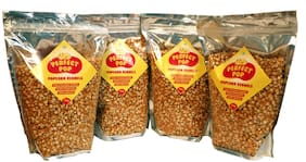Vitality Foods Perfect Kernels Popcorn Pack of 4 (1 Kg x 4)