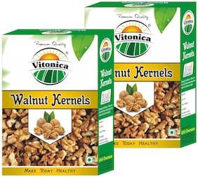 Vitonica Premium Walnut Half Giri 250g (Pack of 2) (Fresh and Good Taste)