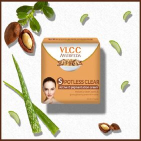 VLCC Ayurveda Spotless Clear D Pigmentation cream