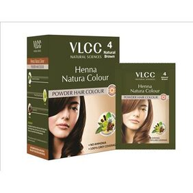 VLCC Henna Natura Color - Brown - 100 gm