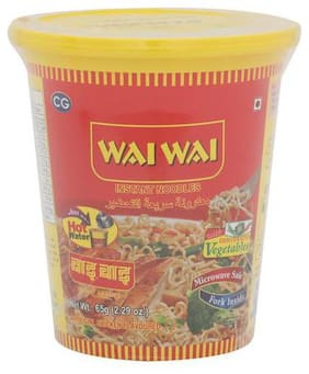 Wai Wai 1-2-3 Noodles - Chicken Flavour 65 gm