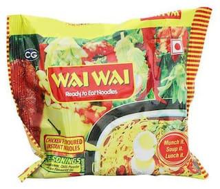 Wai Wai 1-2-3 Noodles - Chicken Flavour 70 g