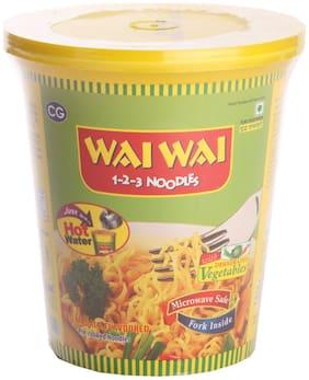 Wai Wai 123 Noodles Pure Vegetarian 65 g