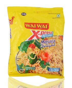 Wai Wai Xpress Instant Noodles Masala Delight 70 gm