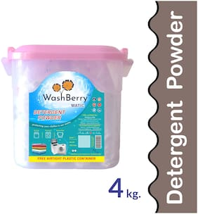 Washberry Matic Detergent Powder 4kg