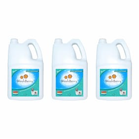 Washberry Superior Top/Front Load Liquid Detergent 5L (Pack Of 3)