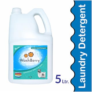 Washberry Superior Matic Liquid Detergent 5L (Pack Of 1)
