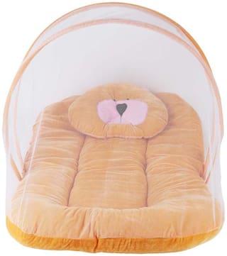 WELO High Quality Velvet Baby Bedding Set Pink