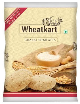 Wheatkart Atta - Whole Wheat/Chakki Fresh 10 kg
