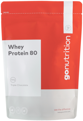 GoNutrition Whey Protein 80 - 2.5 kg- Triple Chocolate