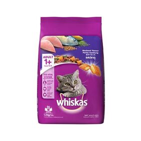 Whiskas (Adult - Cat Food) Pocket Mackerel 1.2 kg Pack