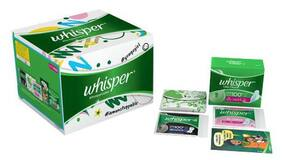 Whisper  First Period Kit 97 gm