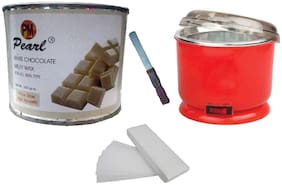 White Chocolate Auto Heater - 90 Strip Applicator Waxing Kit 600 g Pack Of 4