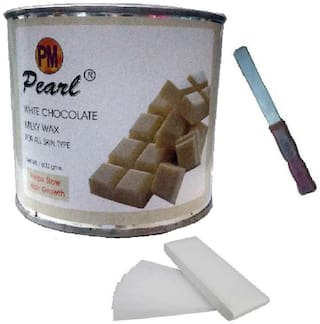 White Chocolate with 90 strips & Applicator Waxing Kit 600 g Pack of 3