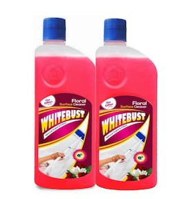 WhiteBust Floor Cleaner (Floral) 500ml (Pack of 2)