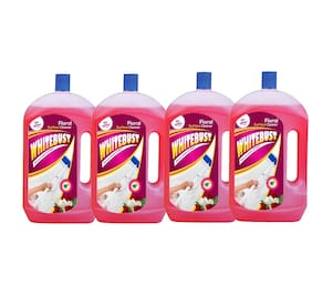 Whitebust General Floor Cleaner 1L Pack of 4