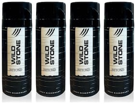Wild Stone Beyond Deodorant for Men 150 ml (Pack of 4)