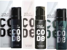 Wild Stone Code Chrome Platinum & Steel Combo