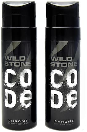 Wild Stone Code Chrome Pack of 2