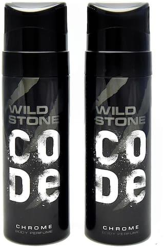 Wild Stone Code Chrome Pack of 2