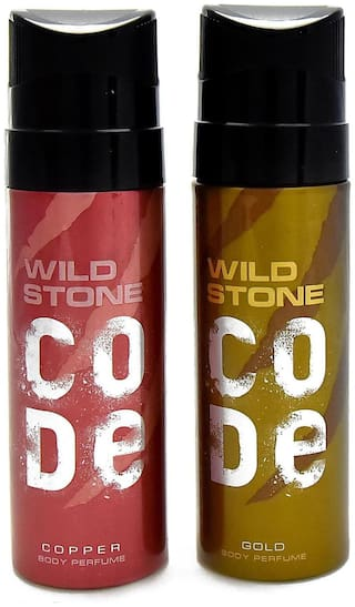 Wild Stone Code Copper & Gold Combo (Pack of 2)