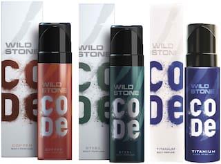 Wild Stone Code Copper Steel & Titanium Combo
