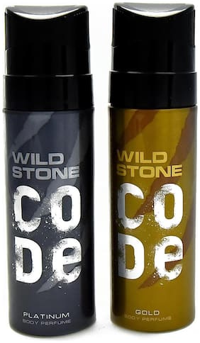 Wild Stone Code Platinum & Gold Combo (Pack of 2)