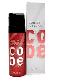 Wild Stone Code Copper Body Perfume