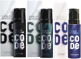 Wild Stone Code Chrome Steel & Titanium Combo