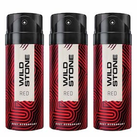 Wild Stone Deo Red (Pack Of 3)