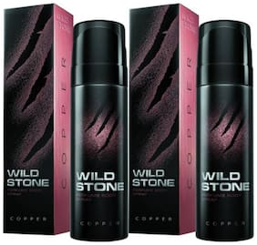 Wild Stone Copper Perfume Body Spray (Pack of 2) 120 Ml Each