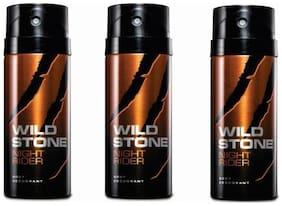 Wild Stone Deo Night Rider (Pack Of 3) 150 Ml Each