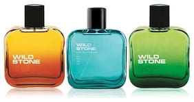 Wild Stone Edge  Forest Spice and Night Rider Perfume for men (Pack of 3  100ml each)