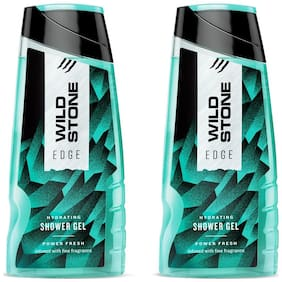 Wild Stone Edge Shower Gel For Men 200 ml (Pack of 2)